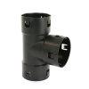 Klik T-stuk 90°, voor drainagebuis, pp, 80 mm