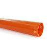 Eindbuis, met flens, voor drainagebuis, pvc, 50 mm, l = 1 m  detailimage_001 100x100