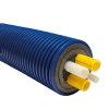 Microflex Quadro, geïsoleerde buis, 2x 32 cv, 1x 25 + 1x 20 sanitair, MQ16032C2520S, l = max 100 m