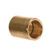 Messing sok, 2x inwendig capillair, 35 mm