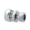 Bonfix Messing-Reduzierkupplung, verzinnt, Kiwa/GASTEC, 2x QV, 15x10mm