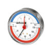 "Watts mano- / thermometer 63-A-½"", 0-4 bar, 0-120 °C"