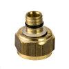 VSH knelset, type K 3055, knel x pe meerlagenbuis, insert met ring en moer, 15 x 14 mm