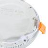 Adurolight® Premium Quality Line platte led Downlight, Adriane, wit, 7 W, 4000 K, non flicker
