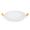 Adurolight® Premium Quality Line platte led downlight, Adriane, wit, 12 W, 2700 K