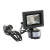 Adurolight® Premium Quality Line led sensor schijnwerper, Firmio Sensory 10, 10W, 3000K