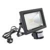 Adurolight® Premium Quality Line led sensor schijnwerper, Firmio Sensory 20, 20W, 6000K