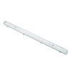 Adurolight® led tl armatuur excl buis, enkel, spwd, incl. polycarbonaat kap en rvs clip, 1x 1,2 m