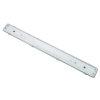 Adurolight® led tl armatuur excl buizen, dubbel, spwd, incl. polycarbonaat kap en rvs clip, 2x 1,2 m