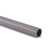 Pvc elektrabuis, grijs, verbeterd slagvast, 38 mm, gladde uitvoering, l = 4 m