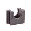 Polfix buisklem, grijs, 16 mm