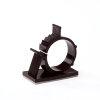 Mepac zelfklevende kabelbeugel, 22 - 25 mm, zwart