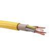 TKF BMqL (H07BQ-F) aansluitsnoer met etheen propeen rubber, geel, 3x 1,5 mm², l = maximaal 100 m
