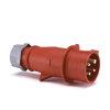 Mennekes CEE contactstop, 400 V, 4-polig, 16 A, rood