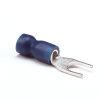 Vorkschoen, M5, 1,5 - 2,5 mm², blauw