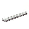 Gewiss Nul aardrail, (3x25) + (10x10), 12 modules, t.b.v. inbouw Kunststof kast
