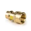 """Viega Profipress gas overgangskoppeling met SC-Contur, type 2612, 42 mm x 1½"""""""