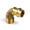 """Viega Profipress gas bocht 90° met SC-Contur, type 2614, 18 mm x ¾"""""""