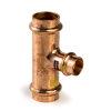 Viega Profipress gas verloop T-stuk met SC-Contur, type 2618, 42 x 35 x 42 mm