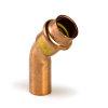 Viega Profipress gas bocht 45° met SC-Contur, type 26261, 28 mm