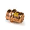 Viega Profipress gas eindkap met SC-Contur, type 2656, 42 mm