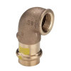 "Viega Profipress gas knie 90° met SC-Contur, type 26142, 12 mm x 3/8"""