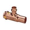 Viega Profipress gas 3-delige schroefkoppeling met SC-Contur, type 2650, 15 mm