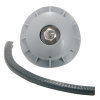 Airfit pp buismontageplug voor buis 100-110 mm, t.b.v. inspectie/ ontstopping, wit  detailimage_002 100x100