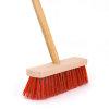 Talen Tools onkruidbezem, pvc en stalen haren, 28 cm, steellengte 140 cm