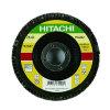 Hitachi lamellenschijf, 125 mm, korrel 80