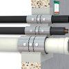 BIS Pacifyre inbouw brandmanchet t.b.v. kunststof buis, 39 - 41 mm