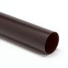 Hwa buis, pvc, KOMO, bruin, 60 x 1,5 mm, l = 4 m