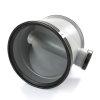 Pp controleput 400, 2x manchet, excl. deksel, 2x 125 mm, grijs  detailimage_001 100x100