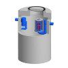 Betonnen coalescentieafs.Integr.Euromal+, coating, klasse B 125kN, 3 ltr/sec. slibvang 600 ltr.CE