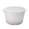 Stucadoorskuip, zwaar polyetheen, wit, 30 liter