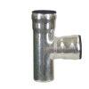 Loro-X T-stuk 87°, thermisch verzinkt staal, 80 mm