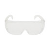 3M overzetbril, type Visitor, helder polycarbonaat lens