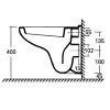 Sphinx 300, wandcloset 48, diepspoel, wit, verkort  detailimage_003 100x100