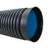 Pehd riool/duikerbuis met aangevormde mof en rubberring, SN8, 350 x 300 mm, l = 6 meter, EN13476