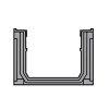 Nicoll lijngoot, type Connecto 100, incl. gegalvaniseerd sleufrooster, A15, 100 x 9,8 cm, set 3 st.  detailimage_005 100x100