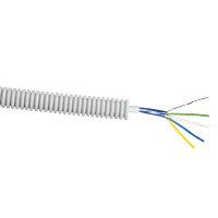 Snelflex voorbedrade flexibele buis, met alarmkabel, Eca