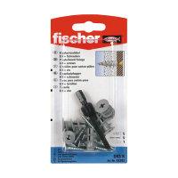 Fischer gipsplaatplug met spaanplaatschroef, type GKS