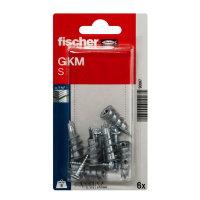 Fischer gipsplaatplug met rondkop schroef, type GKM