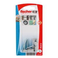 Fischer hollewandplug met spaanplaatschroef, type PD