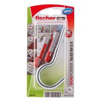 Fischer plug met ronde haak, type DuoPower