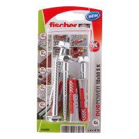 Fischer plug met zeskant schroef, type DuoPower