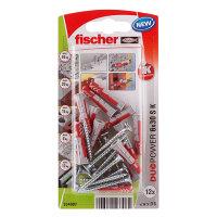Fischer plug met spaanplaatschroef, type DuoPower