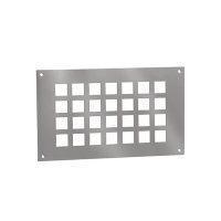 Nedco ventilatieplaat, aluminium
