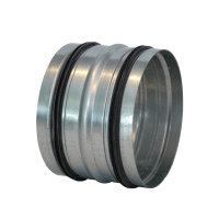 Spiraliet verbindingsstuk, met epdm ring