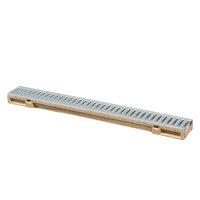 Anrin lijngoot, polyesterbeton, type SELF-Mini, incl. gegalvaniseerd sleufrooster